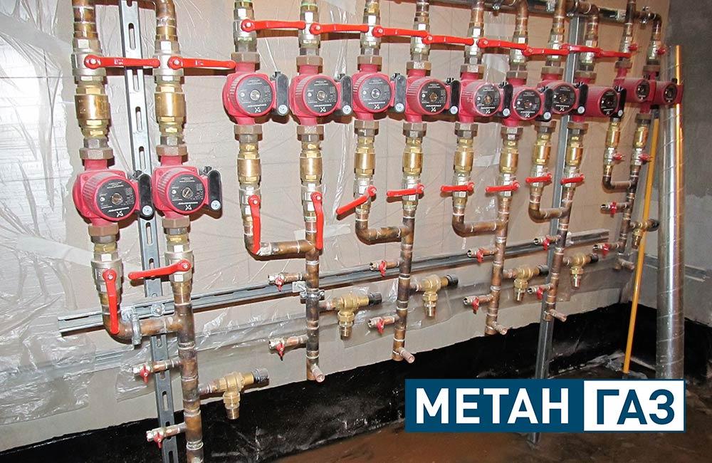 Фото Примеры работ по установке отопления