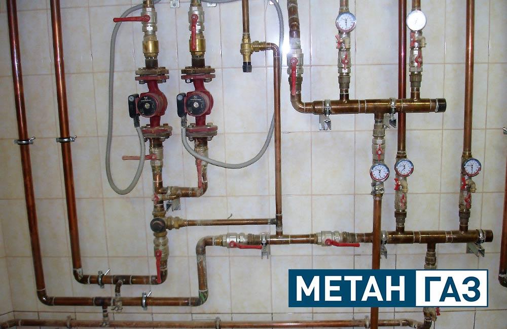 Фото Примеры работ по установке отопления - 3