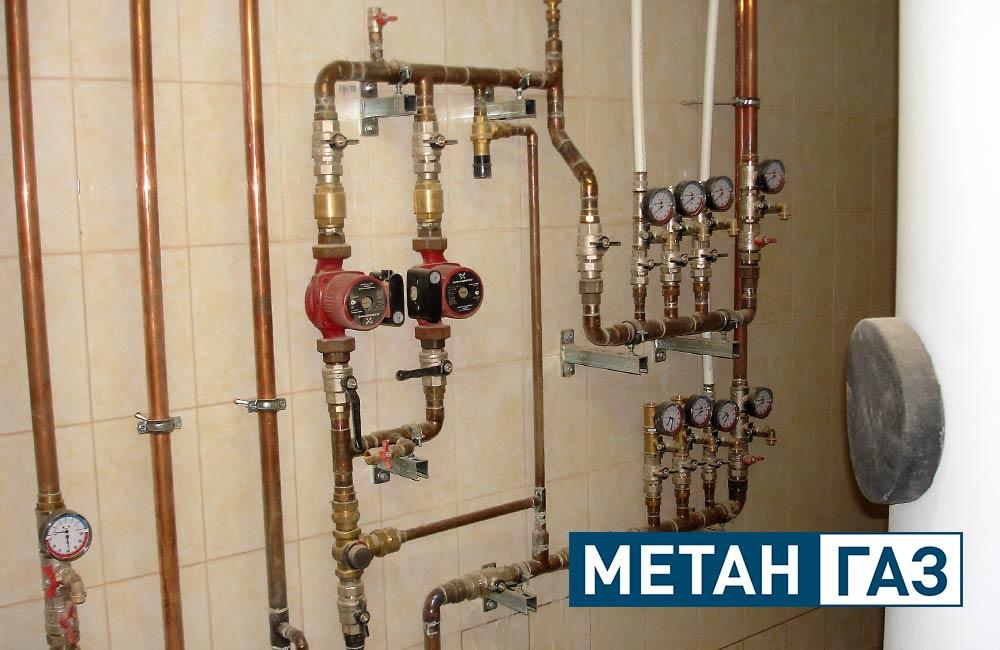 Фото Примеры работ по установке отопления - 4