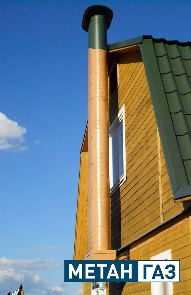 Фото Примеры работ по установке дымоходов и вентиляции - 11