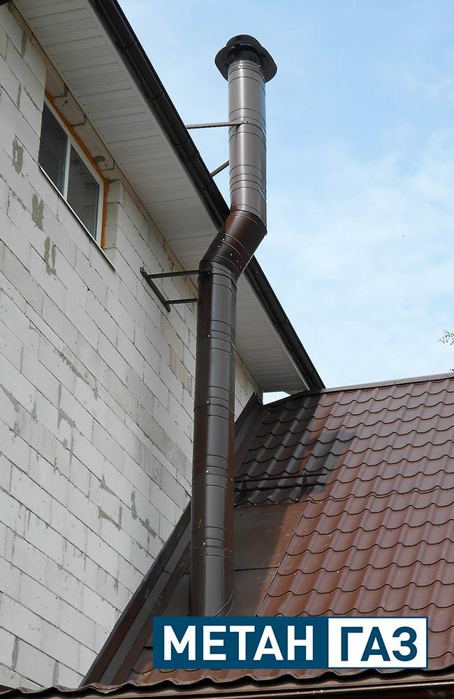 Фото Примеры работ по установке дымоходов и вентиляции - 16