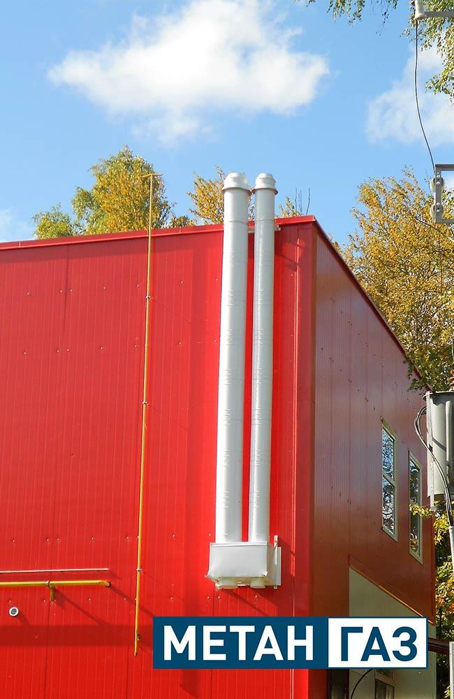 Фото Примеры работ по установке дымоходов и вентиляции - 2