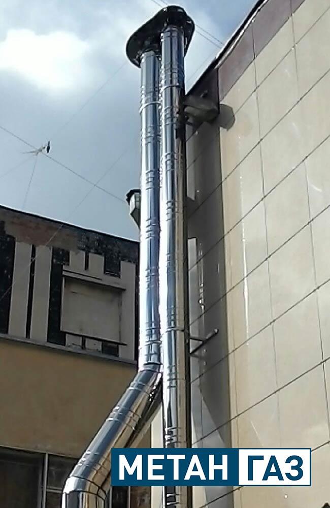 Фото Примеры работ по установке дымоходов и вентиляции - 5