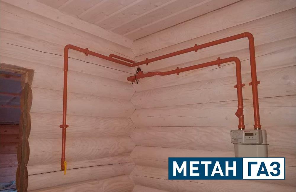 Фото Примеры работ по газификации жилого дома