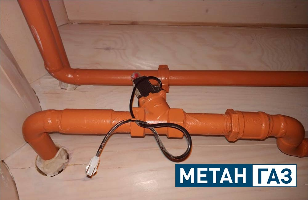 Фото Примеры работ по газификации жилого дома - 1