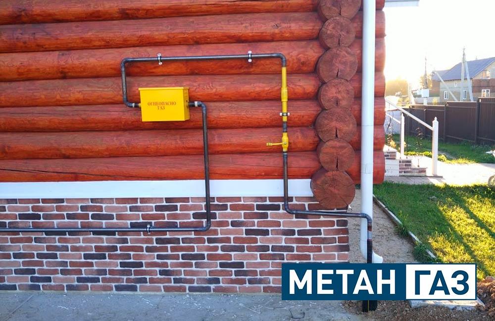 Фото Примеры работ по газификации жилого дома - 2