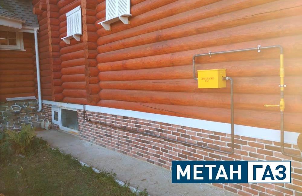 Фото Примеры работ по газификации жилого дома - 3