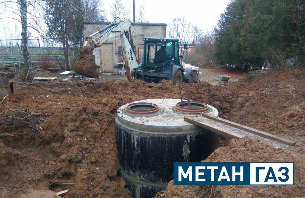 Фото Примеры работ по установке водоотведения - 1