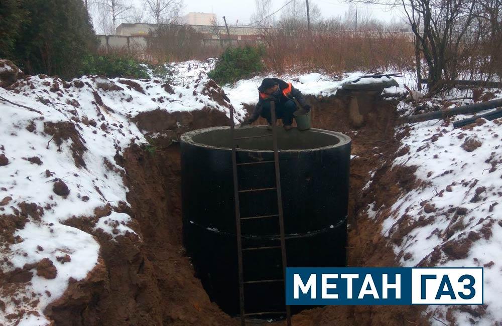 Фото Примеры работ по установке водоотведения - 2