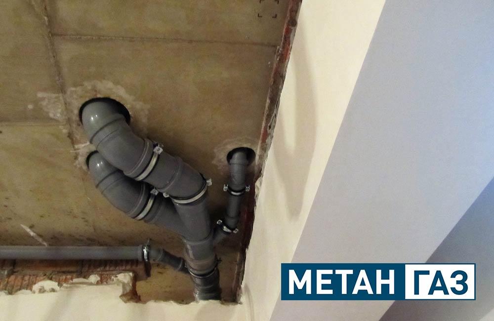 Фото Примеры работ по установке водоотведения - 3
