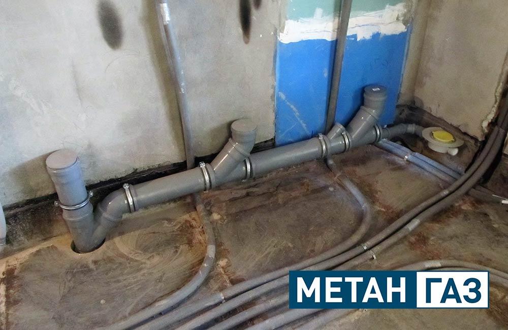 Фото Примеры работ по установке водоотведения - 4