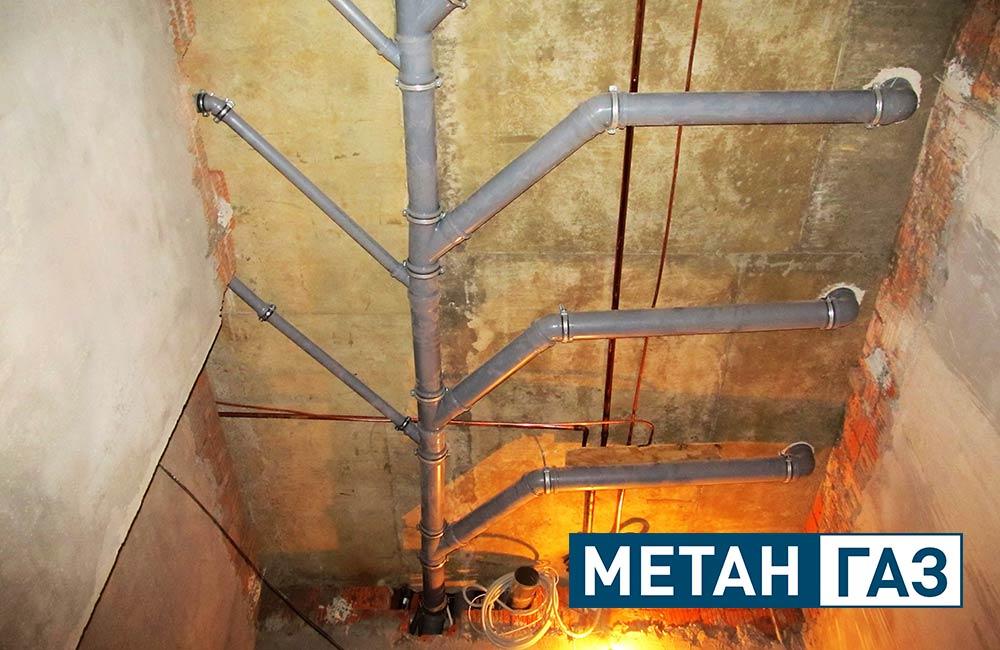 Фото Примеры работ по установке водоотведения - 5