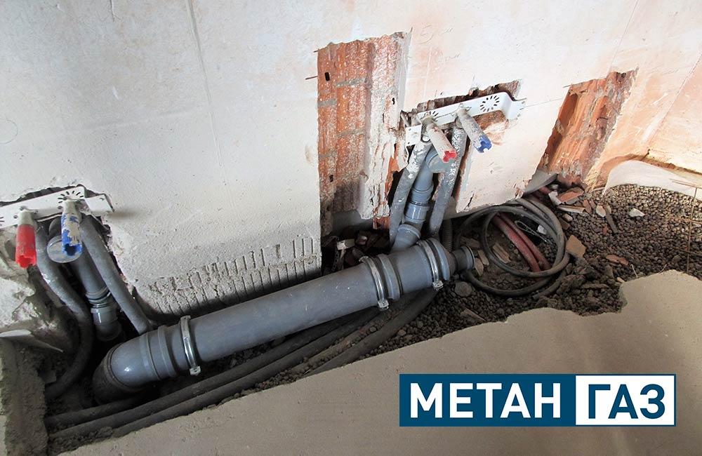Фото Примеры работ по установке водоотведения - 7